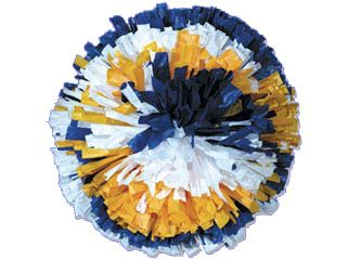 Three Color mix Show Pom 4 inch