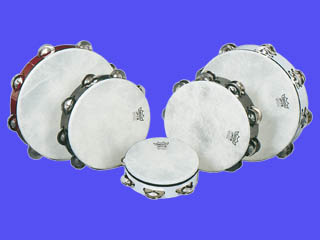 Standard Double Jingle Tambourines 8 Inch