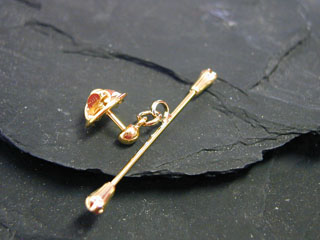 Baton Pin (Gold or Silver)
